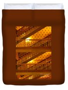 Stairs At The Brown Palace Duvet Cover