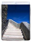 Stairway At Mount Diablo State Park Duvet Cover