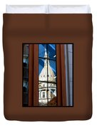 Stairway Dome Reflection Duvet Cover