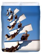 Stairway To Another Dimension Duvet Cover