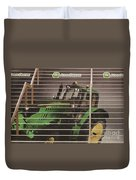 Stairway To John Deere Heaven Duvet Cover by Janice Rae Pariza