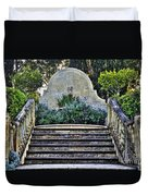 Stairway To Nowhere Duvet Cover by Kaye Menner