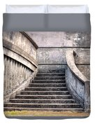 Stairway To The Unknown Duvet Cover by Sandra Bronstein