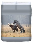 Stallion Challenge Duvet Cover