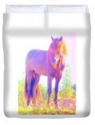 The Stallion Came To Me In A Dream Duvet Cover