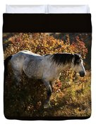 Stallion Of The Badlands Duvet Cover