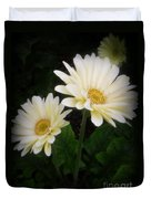 Stand By Me Gerber Daisy Duvet Cover