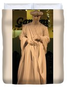 Living Statue Duvet Cover