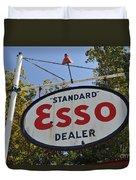 Standard Esso Dealer Duvet Cover