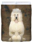Standard Poodle Dog Duvet Cover