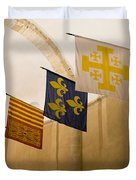 Standards Of The Knights Of The Templar Duvet Cover