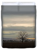 Standing Alone Duvet Cover