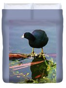 Standing On Water Duvet Cover
