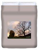 Standing Stones, England Duvet Cover