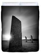 Standing Stones Of Stenness Duvet Cover