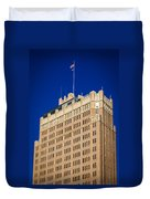 Standing Tall In San Antonio Duvet Cover