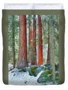 Standing Tall - Sequoia National Park Duvet Cover