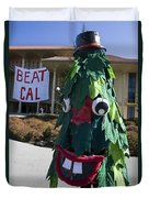 Stanford Tree Mascot Beat Cal Duvet Cover