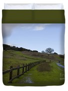 Stanford University The Dish Hiking Trail Duvet Cover