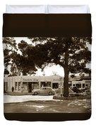 Stanifords Drug Store Ocean Ave.cor San Carlos Carmel Circa 1941 Duvet Cover