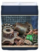 Star Gears Duvet Cover