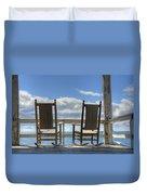 Star Island Rocking Chairs Duvet Cover