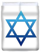 Star Of David Duvet Cover
