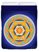 Star Of Energy Duvet Cover