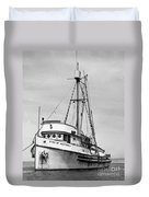 Star Of Monterey In Monterey Harbor Circa 1948 Duvet Cover