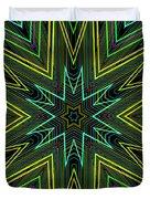Star Of Threads Duvet Cover