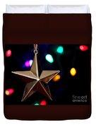 Star Ornament Duvet Cover
