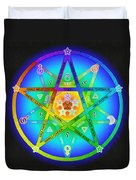 Star Sense Creation Duvet Cover