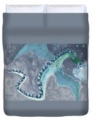 Star Sign Scorpio As A Dragon Duvet Cover