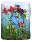 Star Spangled Birdie Duvet Cover