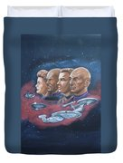 Star Trek Tribute Captains Duvet Cover