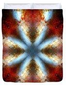 Starburst Galaxy M82 V Duvet Cover