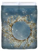 Stardust And Pearls Duvet Cover