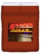 Stardust Diner - New York City Duvet Cover
