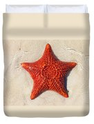 Starfish 4 Of Bottom Harbour Sound Duvet Cover