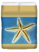 Starfish Art Duvet Cover by Kaye Menner