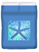 Starfish By Jan Marvin Duvet Cover