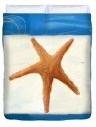 Starfish Galore Duvet Cover by Lourry Legarde