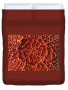 Starfish Upclose Abstract Duvet Cover