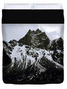 Stark Himalayas Duvet Cover