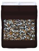 Starling Swarm Duvet Cover