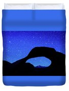 Starry Arch At Mobius Arch, Alabama Duvet Cover