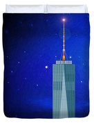 Starry Nights - Wtc One Duvet Cover