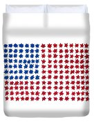 Stars No Stripes Duvet Cover