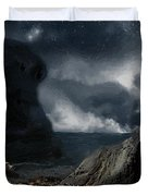 Stars Over Salt Water Duvet Cover