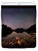 Stars Over The Bubbles Duvet Cover by Brent L Ander